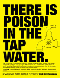 Sodium Fluoride: Poison In The Tap Water poisonwatertb