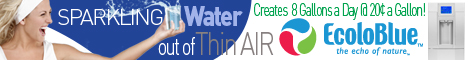 EcoloBlue Atmospheric Sparkling Water Generator